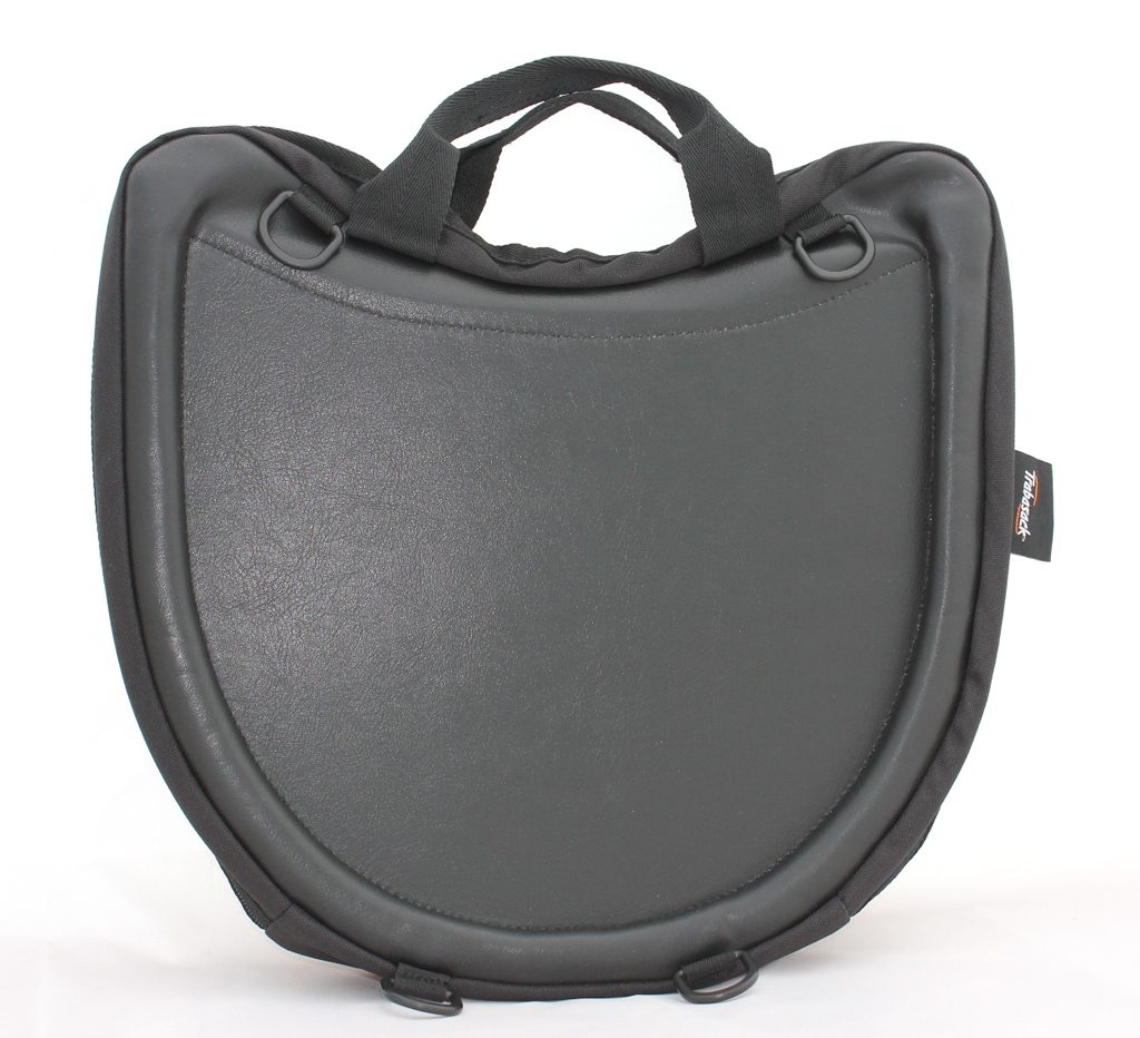 Curve wheelchair lap tray and bag