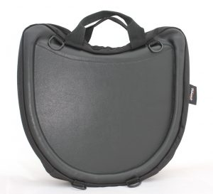 Trabasack wheelchair lap tray and bag front