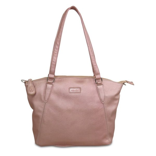 Sam Renke handbag in rose gold