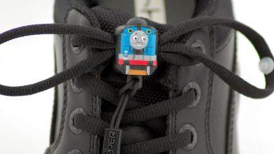 Photo of Greeper Thomas the Tank Engine shoelaces