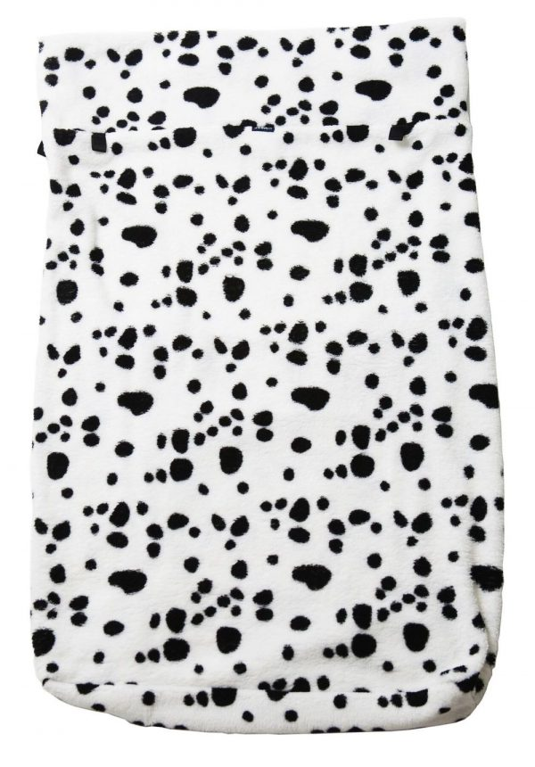 Seenin fleece wheelchair leg cover spotty dog print