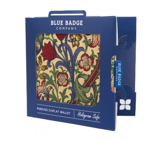 Stylish patterned Blue Badge holder