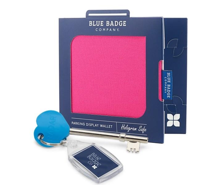 Blue badge holder disabled hologram safe free clock in jungle Blue Badge Co