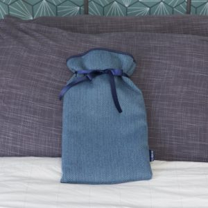 Herringbone Large Hot Water Bottle