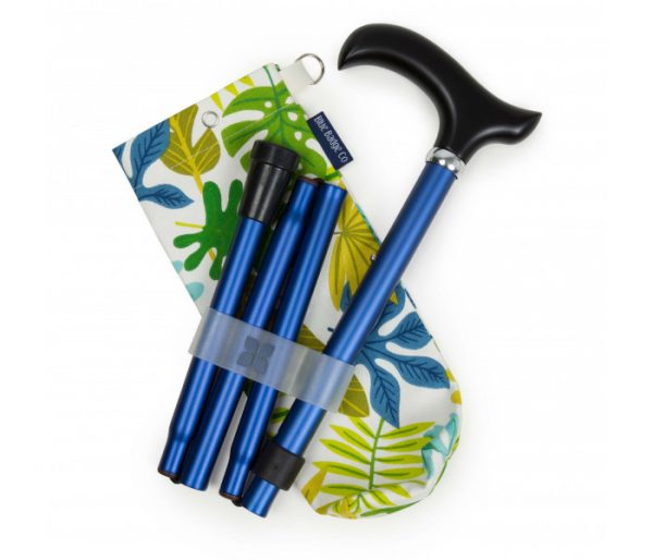 Navy Walking Stick and Jungle Bag